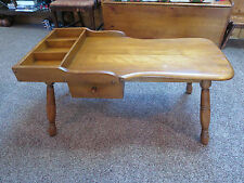 Moosehead Cobblers Bench Coffee Table Vintage Colonial American with Tag