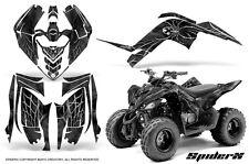 YAMAHA RAPTOR 90 2009-2015 GRAPHICS KIT CREATORX DECALS STICKERS SPIDERX S