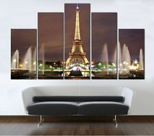 Not Framed Canvas Print Paris Eiffel Tower Picture Home Decor Wall Art Pictures