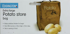 Large Potato Storage Bag Store Case Food Vegetable Fresh Longer Freshness