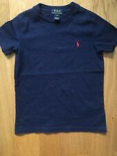 Genuine Ralph Lauren Boys Child's Kids Navy Short Sleeve T Shirt Age 4T