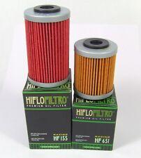 Ölfilter Satz HIFLO HF 155 und HF 651 für KTM 690 Duke und Duke R ab 2012