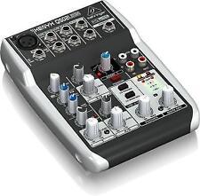 Behringer XENYX Q502USB Mixer and USB Audio Interface