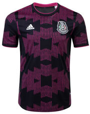 Adidas Mexico Black Pink Soccer Jersey Authentic 2021 Size S Men's Only