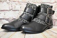 Womens Clarks Bizzy Lane Black Leather Zip Up Low Heel Ankle Boots UK 5 D EUR 38