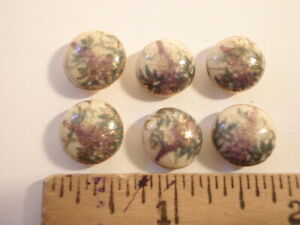 Lot of 6 Satsuma Buttons