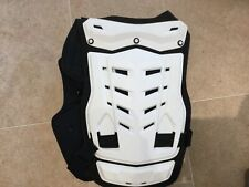 Fox Racing Chest Protector Black/White Preowned good condition large/XL proframe