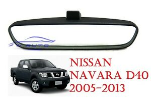 INTERIOR REAR VIEW MIRROR FITS NISSAN FRONTIER NAVARA D40 PICKUP UTE 2005 - 2014