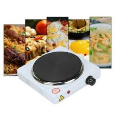 Single Electric Hot Plate Hob Kitchen Cooker Table Top Cast Iron Fine Elements