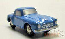 Schuco 713 PICCOLO MERCEDES 190 SL auto sportiva blu chiaro in metallo 1:90