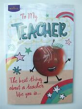 To my School Teacher (Thank you) card by Hallmark - 10738279