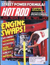 Hot Rod Magazine May 1988 Engine Swaps! Rat Camaro EX 022316jhe