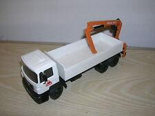 CONRAD Modell - MAN Baustoff-Pritsche mit Kran ATLAS - in 1:50