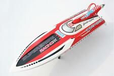 G30H 30CC Gas Engine FiberGlass RC Racing Speed Boat Monohull ARTR Radio Sys RD