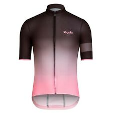 NEW Rapha Men Cycling Jersey XL Super Lightweight Fade Pink Black RCC Summer