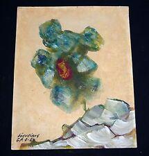 "1964 Mexican Gouache Painting ""Desert Flower"" by David Alfaro Siqueiros (Jac)"