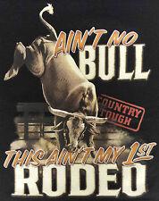T-Shirt #475 AIN'T NO BULLB RODEO, Cowboy Pferd Rodeo Bull USA Quarter HORSE
