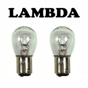Tail Light / Stop Light Bulb Globe x2 6v 6 volt for Honda CT110 Postie Bikes