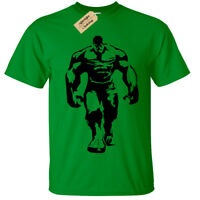 KIDS BOYS GIRLS HULK T SHIRT COOL GYM BODYBUILDING TRAINING TOP LIFTING FITNESS