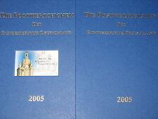 BRD GERMANY 2005 Jahrgang Postwertzeichen Complete Year Set incl. S/S MNH Folder