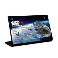 Display plaque  for LEGO Star Wars Millennium Falcon 75192(AUS Top Rated Seller)