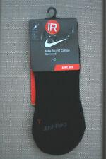 Men Women NIKE Quarter Socks Black 1Pr Sz 6-8 (M) 6-10 (W) NWT