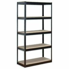 Steel Shelving Racking Unit with 5 Shelves Garage Shelf Storage Unit 1.8m x 90