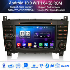 DAB+Autoradio for Mercedes Benz Class C/CLC/CLK W203 W209 Android 10.0 8-Core 4G