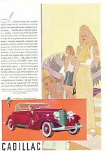 Vintage Original Magazine Ads: 1935 CADILLAC / Kelly-Springfield Tires