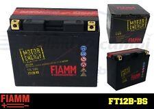 FT12B-BS BATTERIA MOTO FIAMM MOTOR ENERGY YUASA YT12B-BS 10Ah 150A  + LIQUIDO