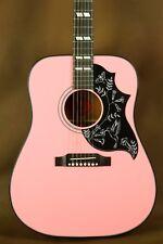 Gibson Hummingbird Pink Rare Acoustic Guitar