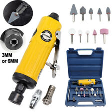 Air Die Grinder Kit Mini Straight Metal Pneumatic Sander Machine Polishing Grind