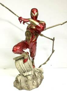 H24794 Sideshow Iron Spider-Man Marvel Statue Bust Comiquette Comiket Spydy