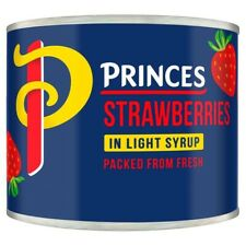 Princes Strawberries In Syrup 210G X 4