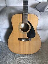Yamaha F-310 Acoustic Guitar, Full size, 6 string W/Pics & Soft Case