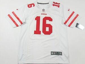 Joe Montana #16 San Francisco 49ers Game On-Field Team Jersey White