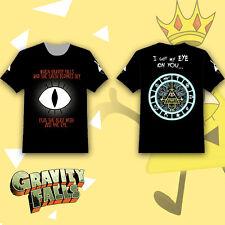Gravity Falls Bill Cipher Boss Eye T-shirt Tee Tops Summer Short Sleeve Loose
