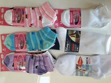 Trainer Socks Sport White Mens Womens 3/6/12 Pairs Ankle Liner Gym Invisible Run