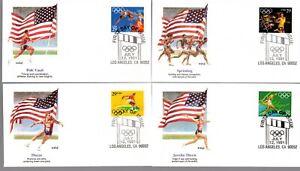 SUMMER OLYMPICS - 2553-7  U/A FDC SET OF 5  - FLEETWOOD  - 1991