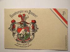 Hamburg - Verbindung Hamburgia - Wappenkarte / Studentika
