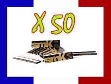 Lot de 50 carnets / cahier de longue feuille à rouler SMK papier cigarette