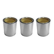 3x tinplate cans 0,5l burner for bio ethanol or gel fireplace accessories