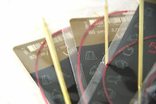 CHOOSE 4 Pairs addi LACE Circular Knitting Needles