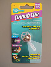 Thumb Lite Lucky Line 90701..Worlds Smallest LED Light-Stick On Keys, Tools etc.