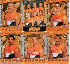 2012 AFL Teamcoach Silver Team set GWS (7)