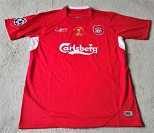 Liverpool FC Steven Gerrard Champions League Final Istanbul 25/05/05 Jersey Med