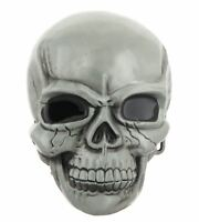 Large Skull Skeleton Head Metal Belt Buckle