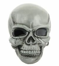 Large Skull Skeleton Head Metal Belt Buckle