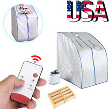 Portable Far Infrared Sauna Tent Indoor Home Weight Lose Spa Detox with Chair US