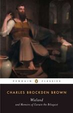 Wieland and Memoirs of Carwin the Biloquist by Charles Brockden Brown (1991, Pap